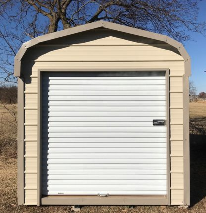 8x12 Standard Metal on Metal Utility Shed.
