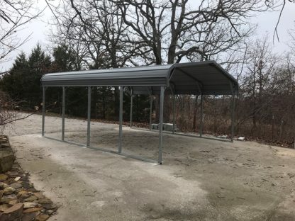 18x20 Standard Style Carport with 7' legs