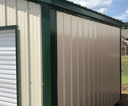 10x12 All Vertical Utility Shed